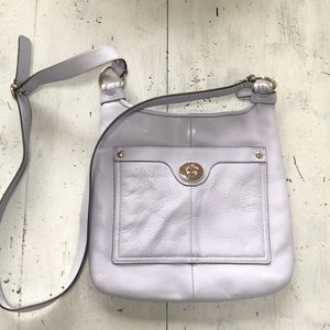 New Coach crossbody bag (bluish grey)
